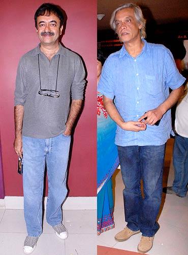 Raju Hirani and Sudhir Mishra