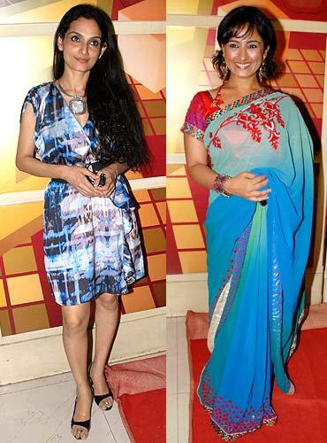 Rajeshwari Sachdev and Divya Dutta