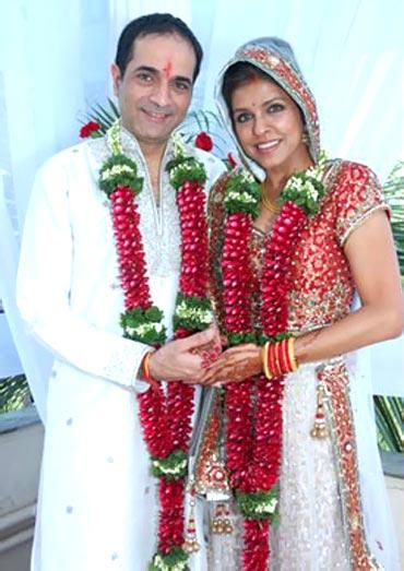 Karan Shah and Bhavana Balsaver