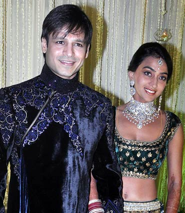 Vivek Oberoi and Priyanka