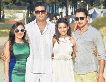 Avantika Malik, Danish Aslam, Shruti Seth and Imran Khan
