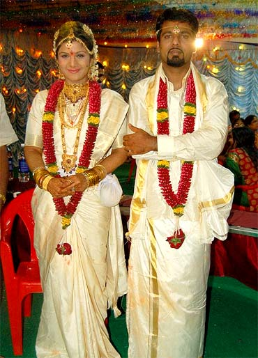 Rambha and Indiran