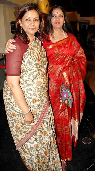Sangeeta Datta and Shabana Azmi