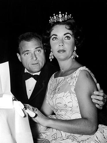 Mike Todd and Liz Taylor