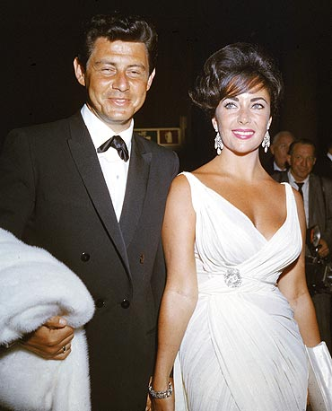Eddie Fisher and Liz Taylor