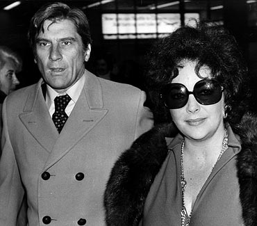 John Warner and Liz Taylor