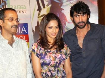 Rohan Sippy, Bipsaha Basu and Rana Daggubati