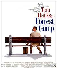 The Forest Gump poster
