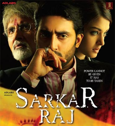 A poster of Sarkar Raj