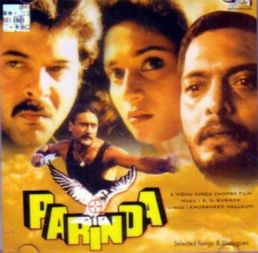 A poster of Parinda
