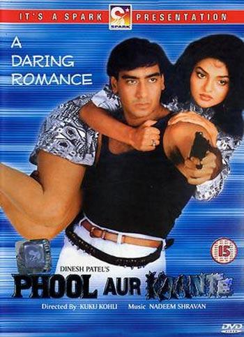 A poster of Phool Aur Kaante