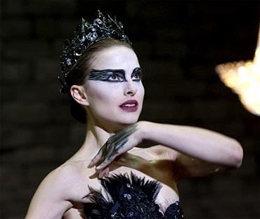 A scene from the film Black Swan