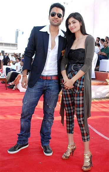 Jackky Bhagnani and Puja Gupta