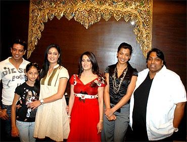 Anup Soni, Palak, Shweta Tiwari, Deepali Bhosle, Mugdha Godse and Ganesh Acharya