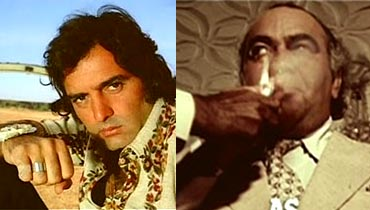 Feroz Khan and Prem Nath in Dharmatma