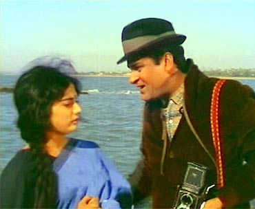 Rajshree and Shammi Kapoor in Brahmachari