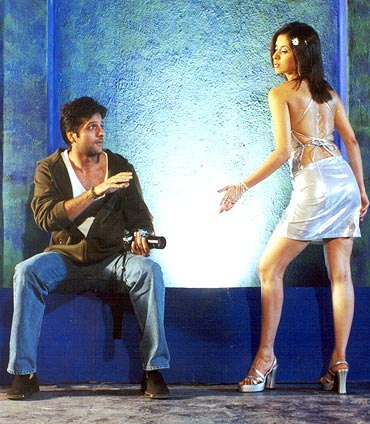 Fardeen Khan and Urmila Matondkar in Pyaar Tune Kya Kiya