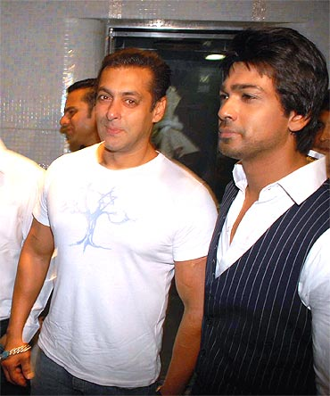 Salman Khan and Nikhil Dwivedi