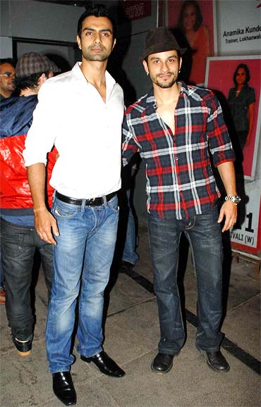 Ashmit Patel and Kunal Khemu