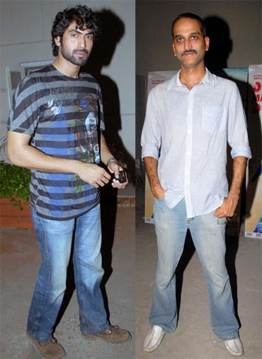 Rana Daggubati and Rohan Sippy