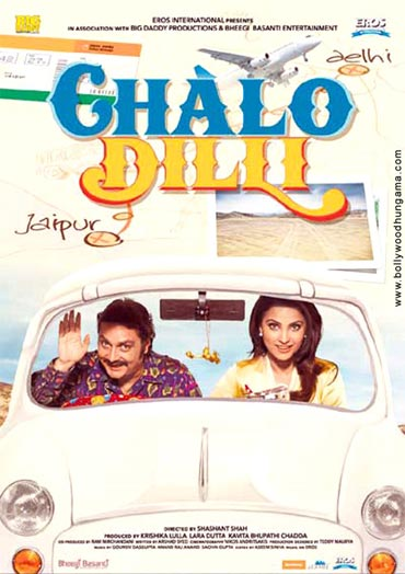 THe Chalo Dilli poster