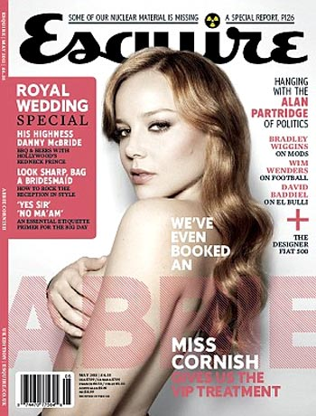 Abbie Cornish on the Esquire cover