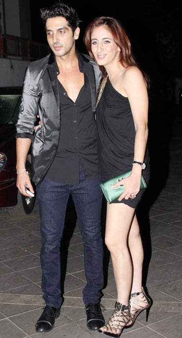 Zayed Khan and Farah Khan Ali