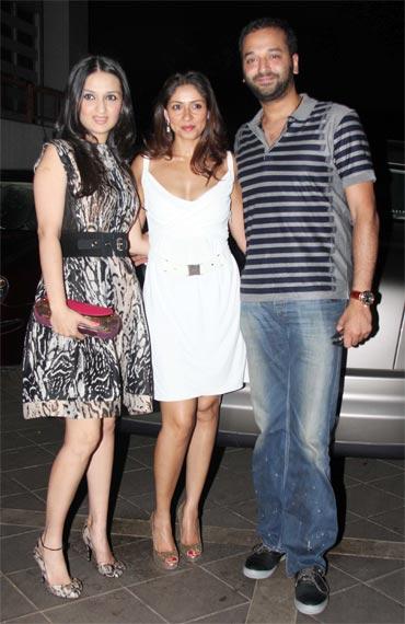 Anu Dewan, Maheep Kapoor and Sunny Deewan