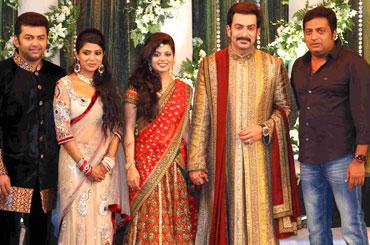 Indrajith, Poornima, Supriya Menon, Prithviraj and Prakash Raj