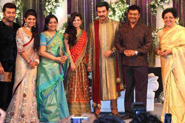 Indrajith, Poornima, Poornima Jayaram, Supriya Menon, Prithviraj, Bhagyaraj and Mallika Sukumaran
