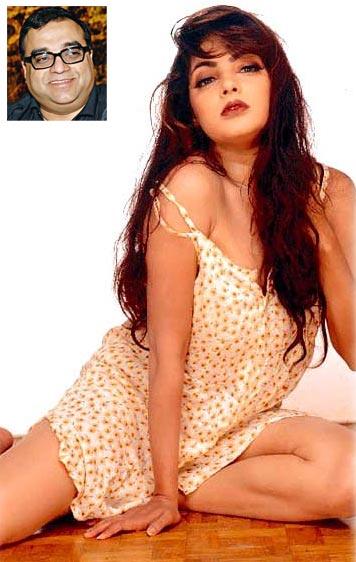 Mamta Kulkarni. Inset: Rajkumar Santoshi