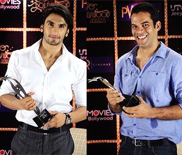 Ranveer Singh and Vikramaditya Motwane
