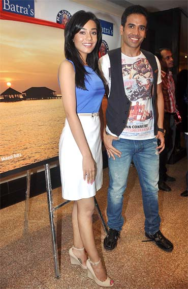 Amrita Rao and Tusshar Kapoor