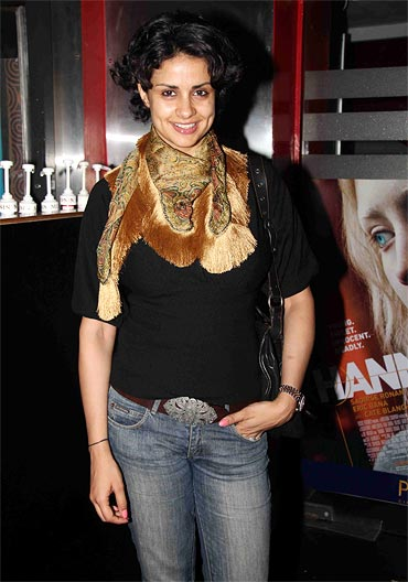 Gul Panag at the screening of Haunted