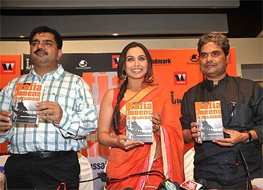 Hussain Zaidi, Rani Mukerji and Vishal Bharadwaj