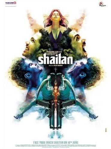 Movie poster of Shaitan