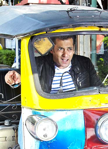 Salman Khan in a still from Ready