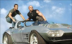 A still from Fast Five