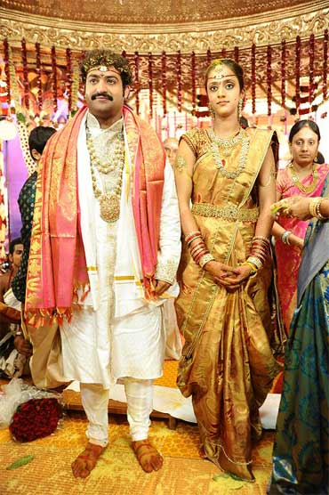 NTR Jr and Lakshmi Pranathi