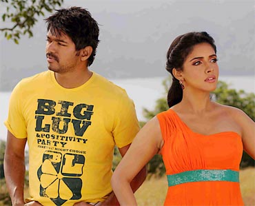 A scene from Kaavalan
