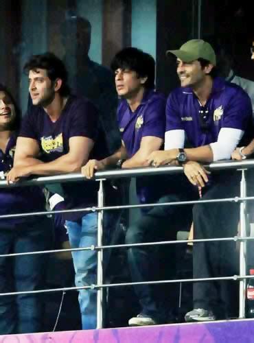 Hrithik Roshan, Shah Rukh Khan and Arjun Rampal