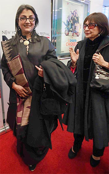 Aparna Sen, Madhur Jaffrey at the New York Indian Film Festival