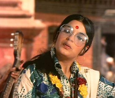A scene from Hare Rama Hare Krishna