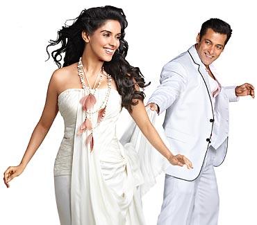 Asin and Salman Khan