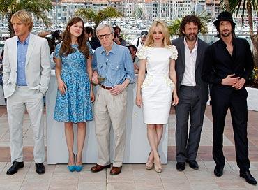 Owen Wilson, Lea Seydoux , Woody Allen, Rachel McAdams, Michael Sheen and Adrien Brody