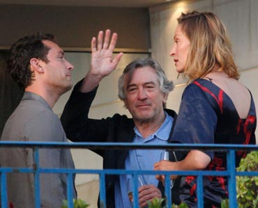 Jude Law, Robert De Niro and Uma Thurman