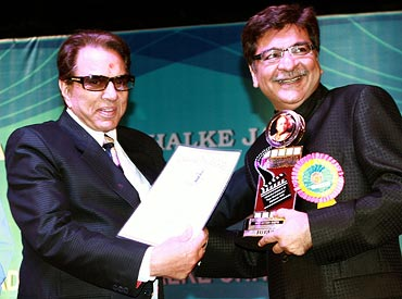 Dharmendra and Jjayesh Sheth