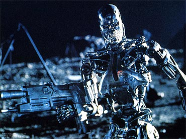 A scene from The Terminator