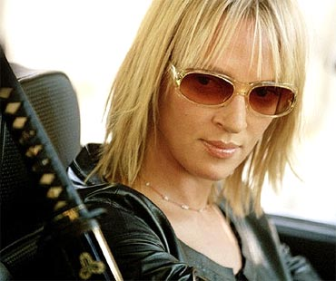 Uma Thurman as Beatrix Kiddo