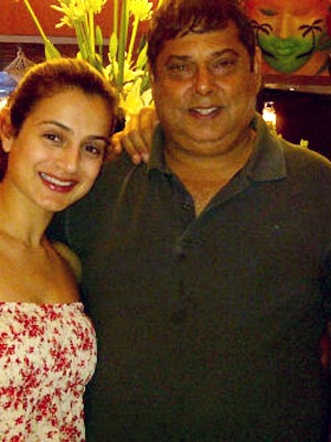 Ameesha Patel and David Dhawan